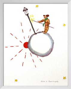 The Lamp Lighter by Antoine de Saint Exupery