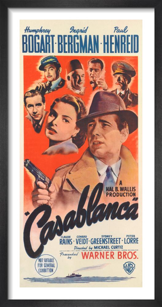 Casablanca by Cinema Greats