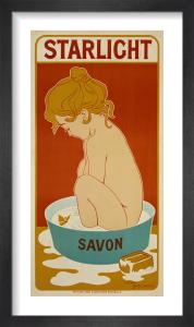 Starlight Soap, 1899 by Henri Meunier