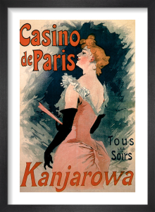 Casino de Paris - Kanjarowa, 1891 by Jules Cheret