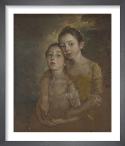 The Painter's Daughters with a Cat by Thomas Gainsborough