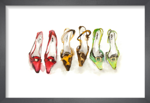 A Trio of Shoes by Bridget Davies