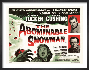 The Abominable Snowman by Hammer