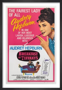 Breakfast at Tiffany's - One Sheet by Cinema Greats
