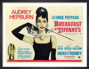 Breakfast at Tiffany's - Quad by Cinema Greats