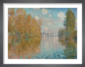 Autumn effect at Argenteuil by Claude Monet