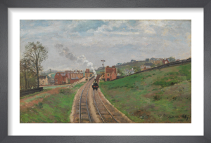 Lordship Lane Station, Dulwich by Camille Pissarro