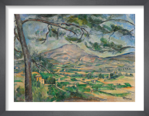 The Montagne Sainte  Victoire with Large Pine by Paul Cezanne