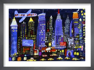 New York Night Sky by Christopher Corr