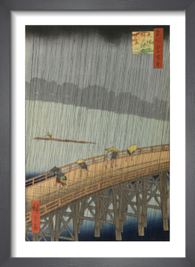 Sudden Shower by Utagawa Hiroshige I