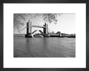 Tower Bridge opening by Niki Gorick