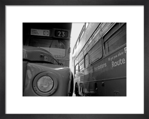 Doubledeckers, Piccadilly by Niki Gorick