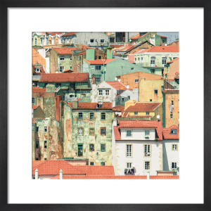 Lisbon Houses Square by Scott Dunwoodie