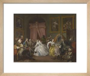 Marriage A-la-Mode: 4, The Toilette by William Hogarth