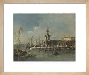 Venice: The Punta della Dogana by Francesco Guardi