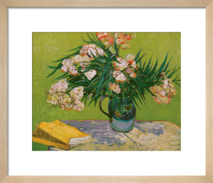 Still Life with Oleander by Vincent Van Gogh