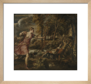 The Death of Actaeon by Titian