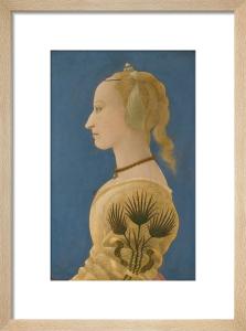 Portrait of a Lady by Alesso Baldovinetti