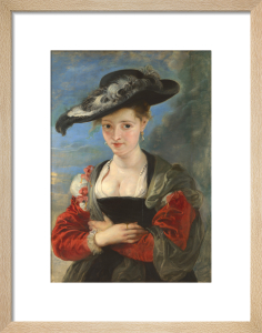 Portrait of Susanna Lunden(?) ('Le Chapeau de Paille') by Peter Paul Rubens
