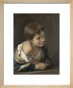 A Peasant Boy leaning on a Sill by Bartolomé Esteban Murillo