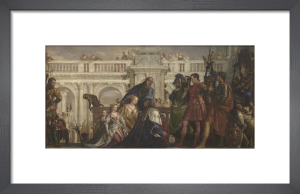 The Family of Darius before Alexander by Paolo Caliari Veronese