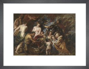 Minerva protects Pax from Mars ('Peace and War') by Peter Paul Rubens