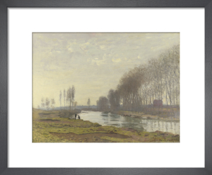 The Petit Bras of the Seine at Argenteuil by Claude Monet