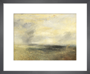 Margate (?), from the Sea by Joseph Mallord William Turner