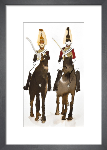 Horse Guards Parade by Bridget Davies