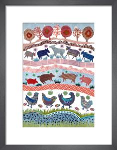 Farmyard by Jane Robbins