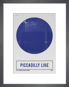 Piccadilly Line by Nick Cranston
