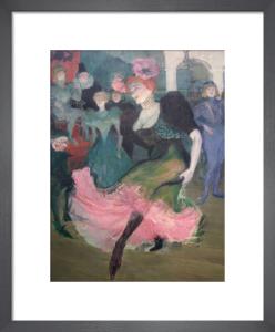 Marcelle Lender Dancing Bolero by Henri de Toulouse-Lautrec