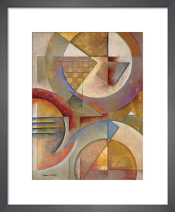 Circular Rhythms I by Marlene Healey