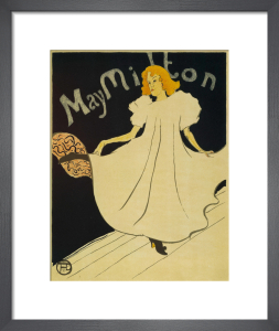 May Milton, 1895 by Henri de Toulouse-Lautrec