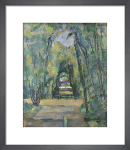Avenue at Chantilly by Paul Cezanne