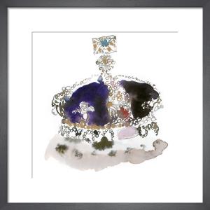 Purple Crown by Bridget Davies