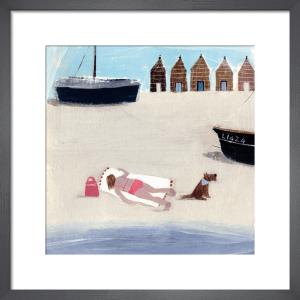 Sunbathing by Hannah Cole