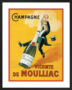 Vicomte de Moulliac by Vintage Posters