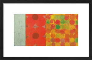 Flowers and Dots #1 by Bill Mead