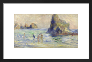 Moulin Huet Bay, Guernsey by Pierre Auguste Renoir