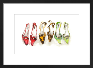 A Trio of Shoes by Bridget Davies
