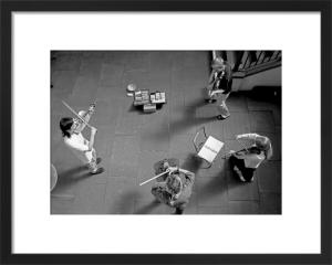 String quartet, Covent Garden by Niki Gorick