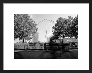 London Eye biker by Niki Gorick