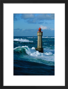Phare de La Jument II by Jean Guichard