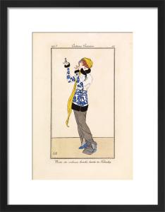 Costumes Parisiens by Gazette du Bon Ton
