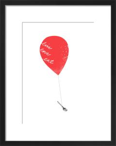 Red Balloon by Ana Zaja Petrak