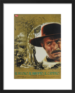 The Good The Bad and The Ugly (Italian) - Van Cleef by Cinema Greats