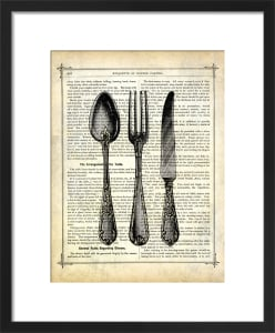 Silverware by Marion McConaghie