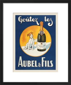 Goutez les Aubel & Fils by Vintage Posters
