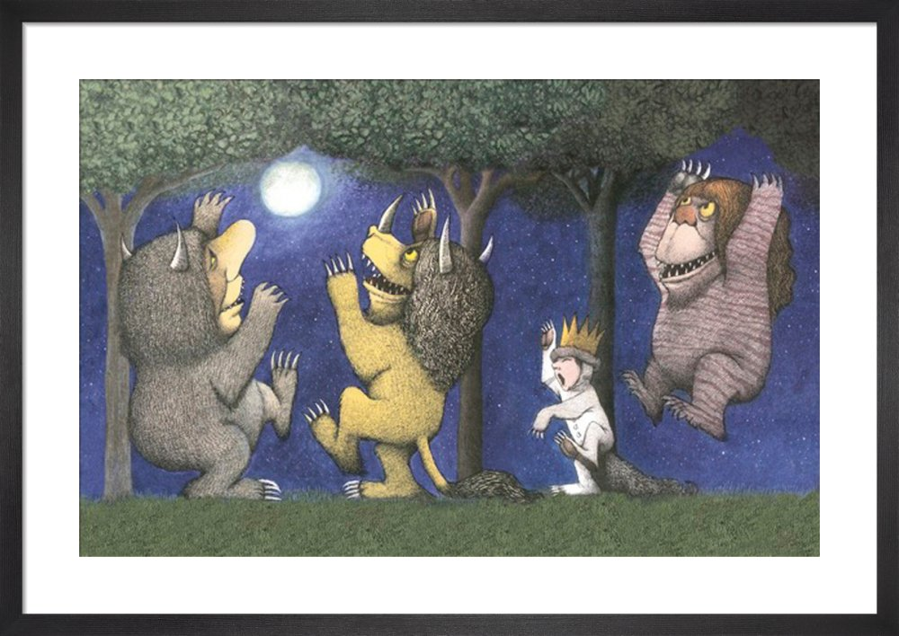 picture about Let the Wild Rumpus Start Printable titled Permit the Wild Rumpus Commence I